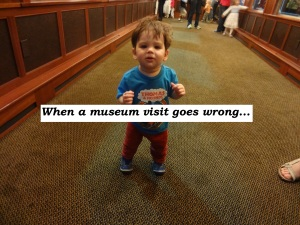 When a museum visit goes wrong and how to make it right