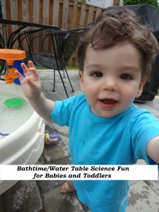 Water Science Fun for Babies and Toddlers