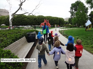Museuming with Multiple. Tips for visiting with multiple kids and kids of different ages
