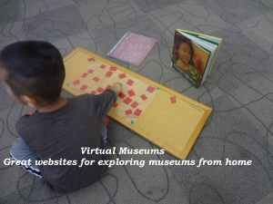 Stuck at home. Visit these great museums online and find interesting projects to do with your kids