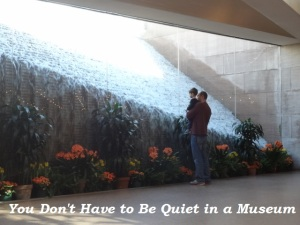 You don't have to be quiet in a museum. Ways to talk, move and enjoy respectfully