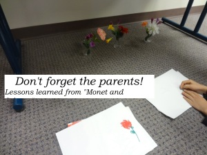 When planning programs for kids...don't forget the parents!