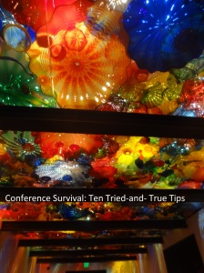 Ten tips for surviving, and enjoying, your conference experience