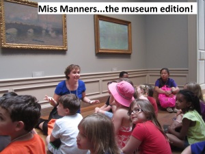 Dealing with difficult questions from kids in the museum