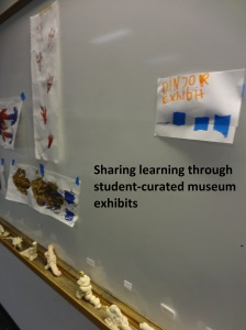 Using a student created museum exhibit to share and assess learning