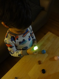 Shadow exploration for toddlers